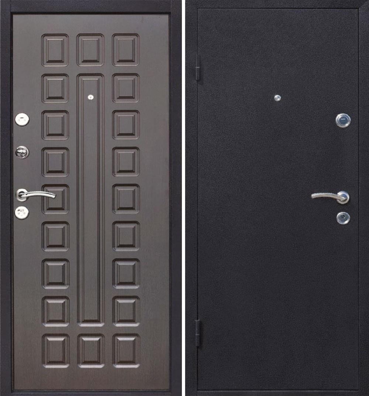 дверь металлическая венге