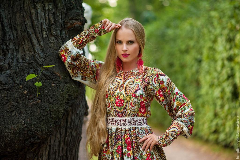одевается девушка русская фото кончиков